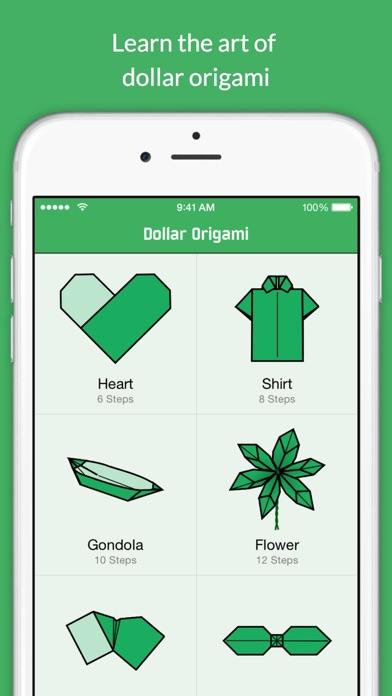 Dollar Bill Origami Screenshots