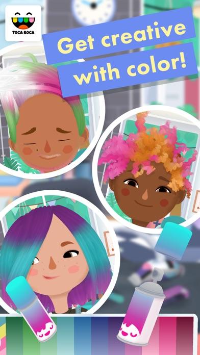 Toca Hair Salon 3 Screenshots