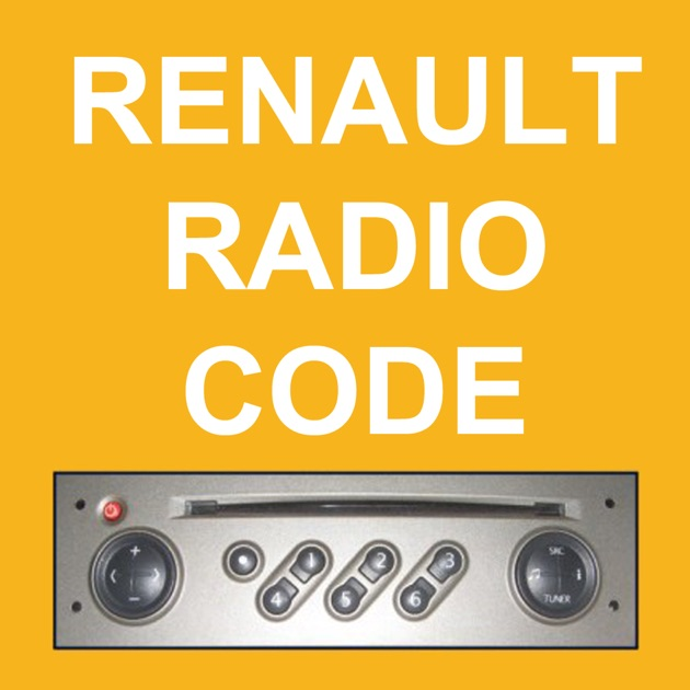renault radio code generator on the app store. Black Bedroom Furniture Sets. Home Design Ideas
