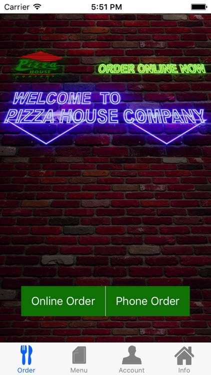 Pizza House Company Guiseley By Integer Computers Llp