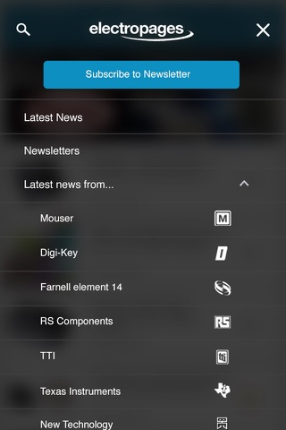 Electronics News screenshot 2