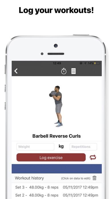 Screenshot #6 for Gymster+ Workouts & IIFYM Diet