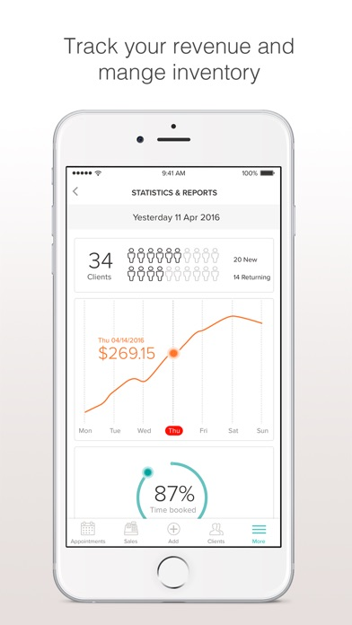 download BooksyBIZ: Track Your Business appstore review