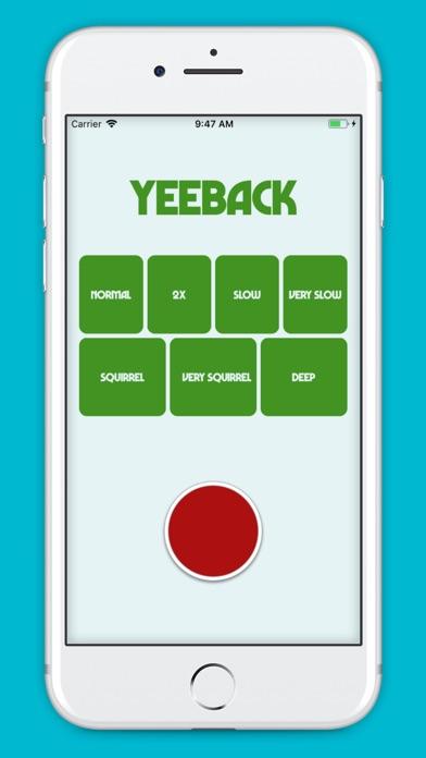 YeeBack screenshot 1