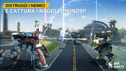 Screenshot of War Robots3