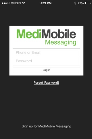 MediMobile Messaging screenshot 1