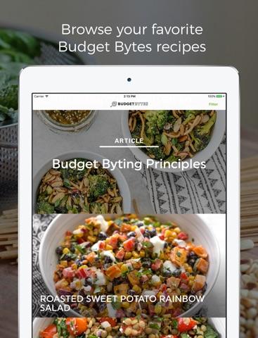 Budget Bytes screenshot 1