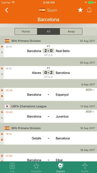 Screenshot of Futbol245