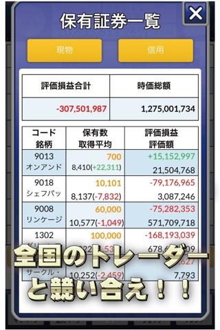 iトレ2 - バーチャル株取引ゲーム screenshot 4