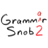 Apps From Outer Space, LLC - Grammar Snob 2 artwork
