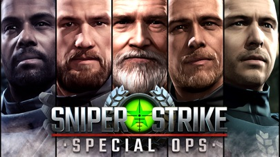 Sniper Strike: Special Ops iOS Screenshots