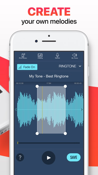 Ringtones for iPhone. Screenshots
