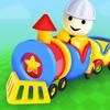 Строим железную дорогу — игра для мальчиков