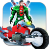 fliegend Superheld Moto Umwandlung - Profi Wiki
