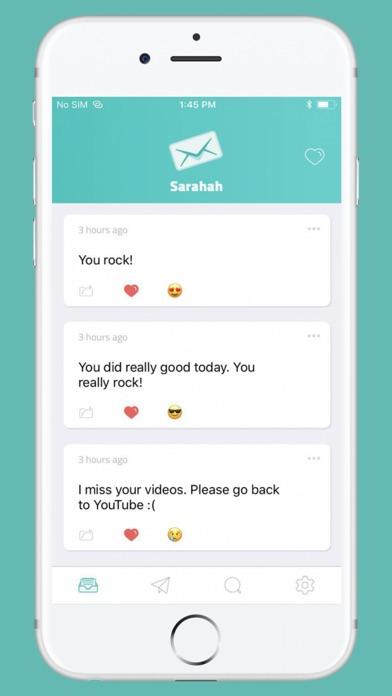 sarahah iphone