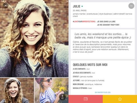 Meetic: Dating & Evènements screenshot 1