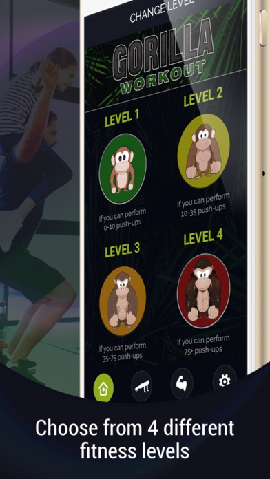 Gorilla Workout: Body Beast Screenshots
