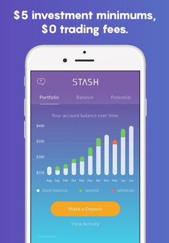 Stash: Invest, Learn, & Save screenshot 2