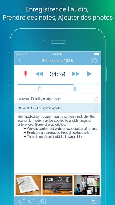 Screenshot eXtra Voice Recorder - Enregistre & Prends Notes