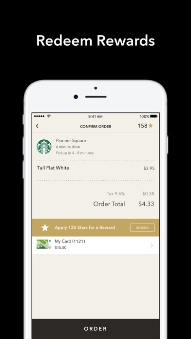 Starbucks Screenshot 5