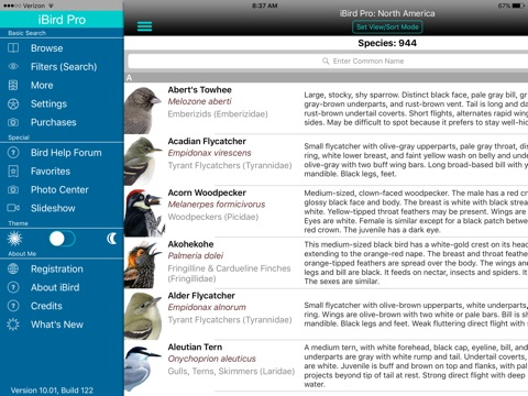 iBird Pro Guide to Birds screenshot 1