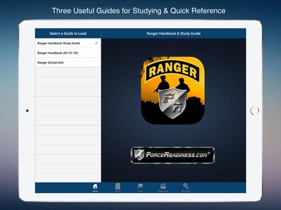 Ranger Handbook & Study Guide Screenshots