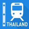 Thailand Rail Map - Bangkok & All Thailand