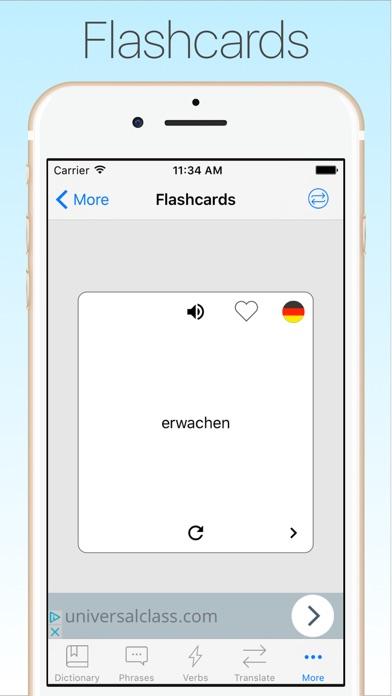 Screenshot #10 for German Dictionary & Translator