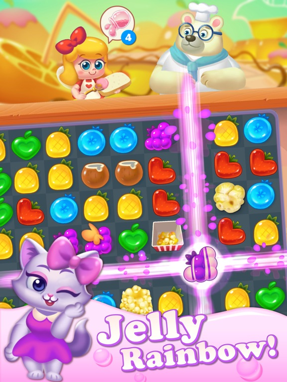 Tasty Treats - A Match 3 Game Скриншоты8