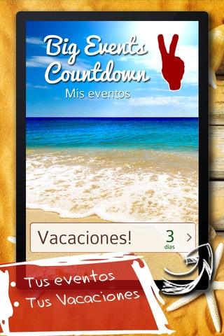 Big Days Countdown screenshot 1