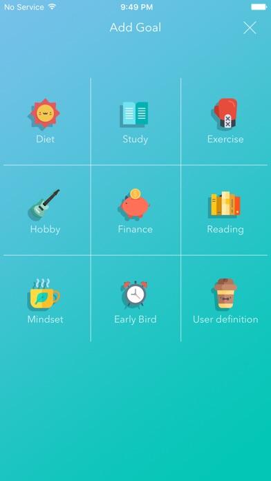 Weple Diary (Goal, Habit) Screenshots