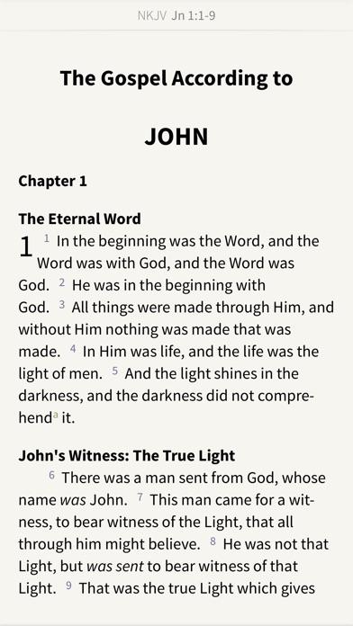 NKJV Bible by Olive Tree screenshot one