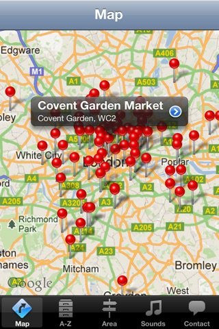 London Market Guide screenshot 1