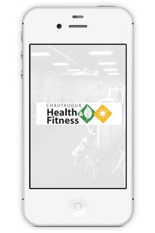Chautauqua Health and Fitness screenshot 1