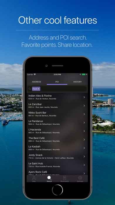 Screenshot for New Caledonia Navigation in India App Store