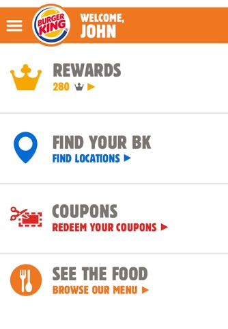 BURGER KING® App - New Zealand screenshot 1