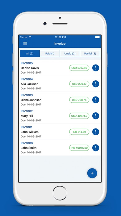 Ups Invoice Tracking Quick Invoice Maker On The App Store Free Express Invoice Excel with Return-receipt-to Excel Iphone Screenshot  Quickbooks Invoice Templates Excel