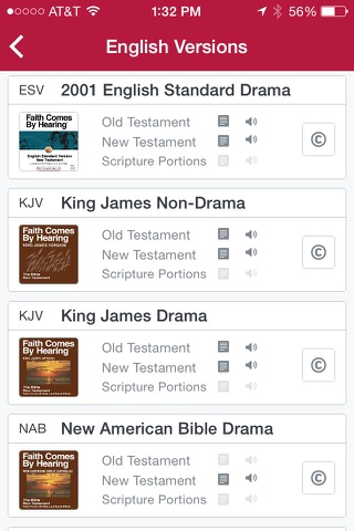 Bible.is - Audio Bibles screenshot 2