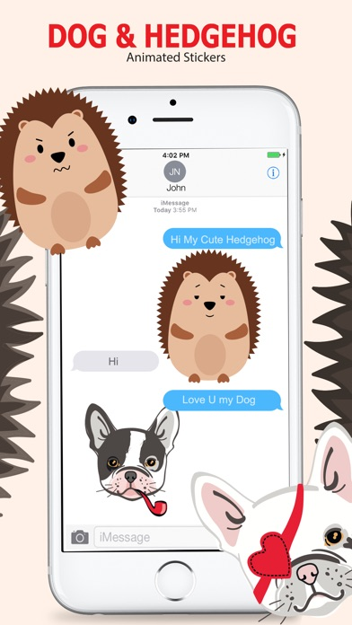 Animated Dog & Hedgehog screenshot 4