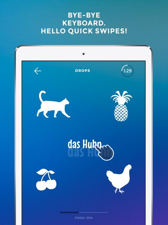 Screenshot #2 for Drops: Learn German language