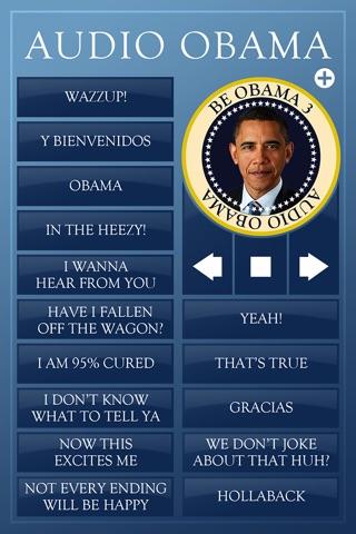 Audio Obama - soundboard screenshot 1