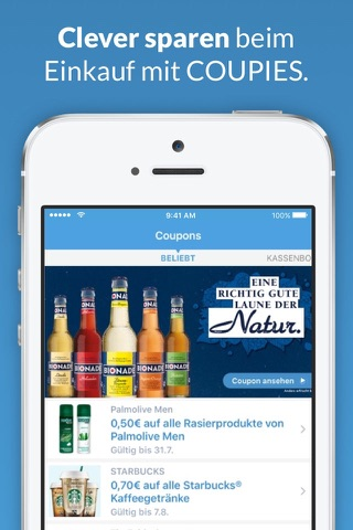 COUPIES Coupons im Supermarkt screenshot 1