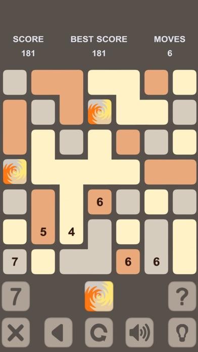 Blocks Numbers Puzzle Скриншоты6