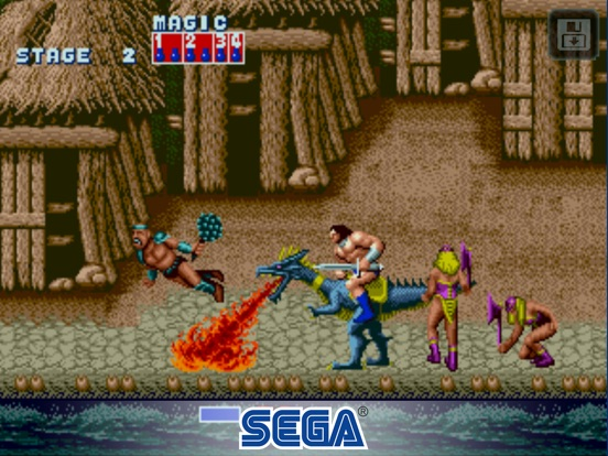 Screenshot #2 for Golden Axe