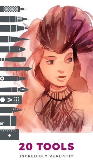 Tayasui Sketchesのスクリーンショット1