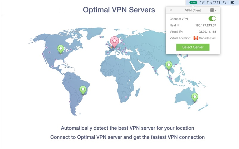 VPN Client Screenshot - 5