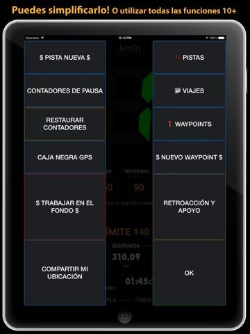 Speedometer 55 Start. GPS Box. screenshot 4