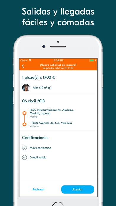 download BlaBlaCar - Compartir coche apps 1