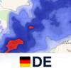 Regenradar Deutschland.