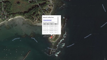 Screenshot #1 pour New Hampshire Tide Chart